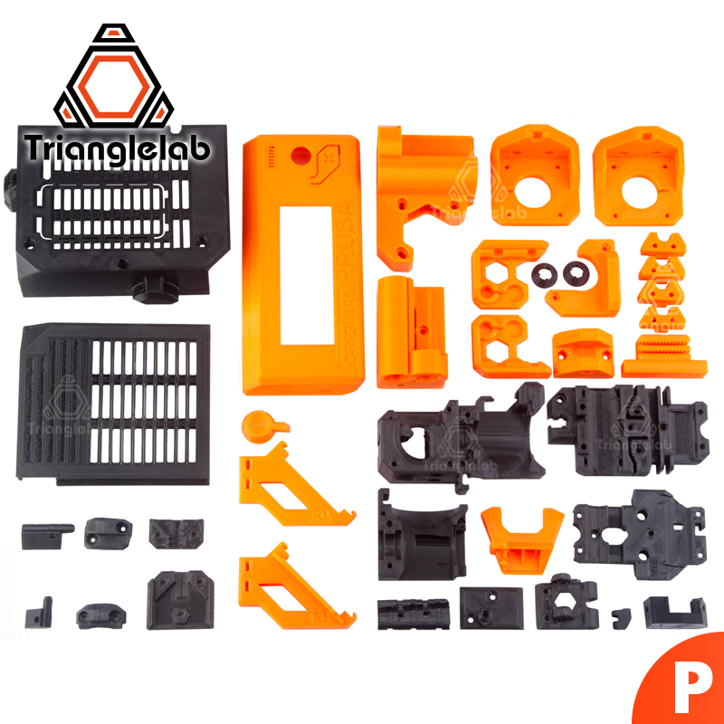 TriangleLAB PETG material printed parts for Prusa i3 MK3S 3D printer kit MK2 2 5 MK3 upgrade to MK3S