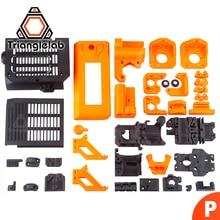 TriangleLAB materiał PETG drukowane części dla Prusa i3 MK3S 3D zestaw do drukarki MK2/2.5 MK3 upgrade do MK3S