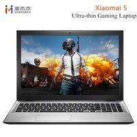 MaiBenBen Xiaomai 5 ультратонкий ноутбук 8 г ram 128 г/240 GSSD 15,6 дюймов HD Windows 10 Intel 4415U 2,3 ГГц HDMI 3950 мАч ноутбук
