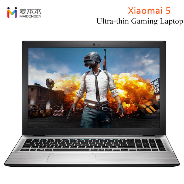 MaiBenBen Xiaomai 5 Ultra-thin Laptop 8G RAM 128G/240GSSD 15.6 inch HD Windows 10 Intel 4415U 2.3GHz HDMI 3950mAh Notebook