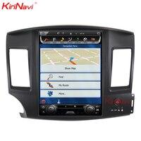 KiriNavi Vertical Screen Tesla Style 12.1 Inch android 6.0 Car Multimedia For Mitsubishi Lancer Android Radio GPS Navigation
