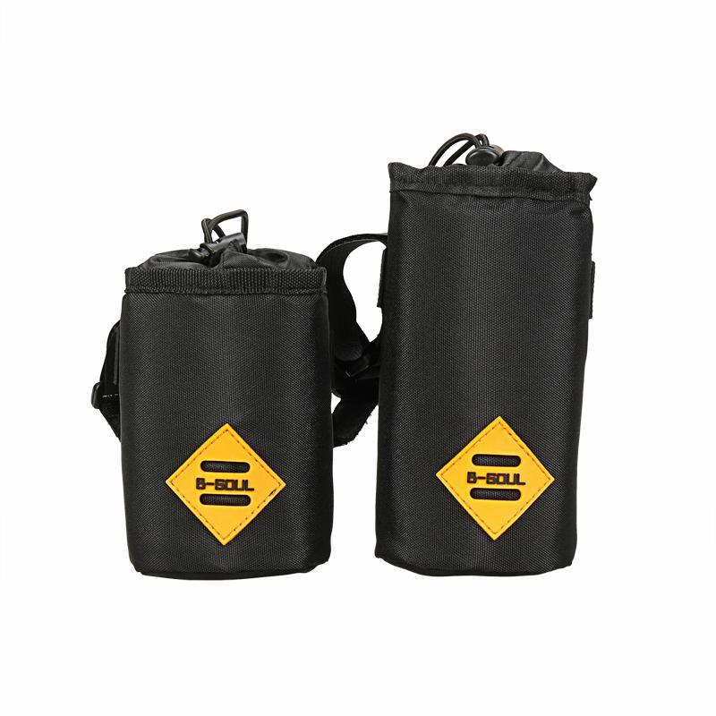 B-SOUL Bicycle Front Bag With Water Bottle Pocket Waterproof MTB Bike Bags Cycling Insulation Bag Bike Accessories(China)