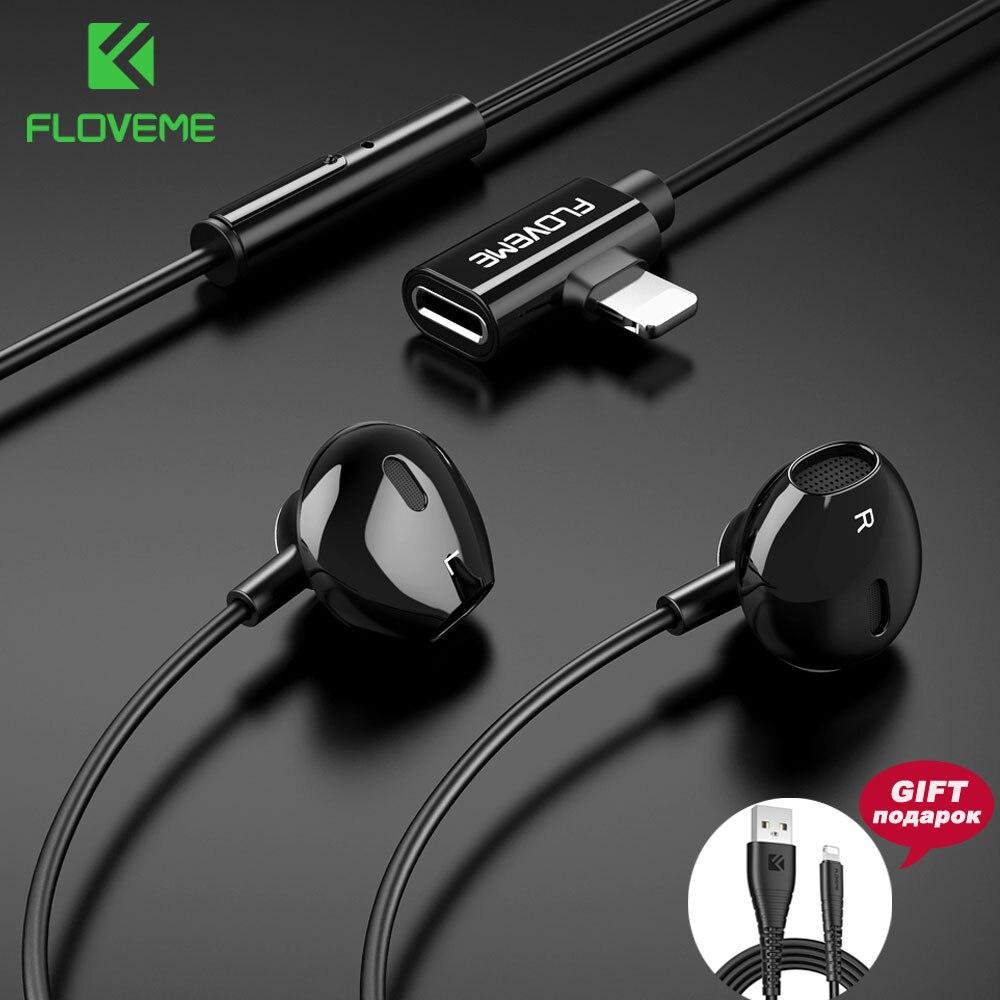 Gekwalificeerd Floveme In-ear Magneet Oortelefoon 2 In 1 Opladen Luisteren Stereo Auriculares Oordopjes Sport Spel Oortelefoon Voor Iphone Xiaomi