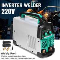 Электросварочный инвертор для дуговой сварки 220 В в 20 200AMP Ручной ЖК комплект MMA стабильно для сварки стальных черных металлов EU Plug