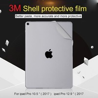 Skin Shell Protect Sticker film cover For Apple iPad pro 12.9 Back Shell Sticker For iPad Pro 10.5 Shell Anti scratch membrane.