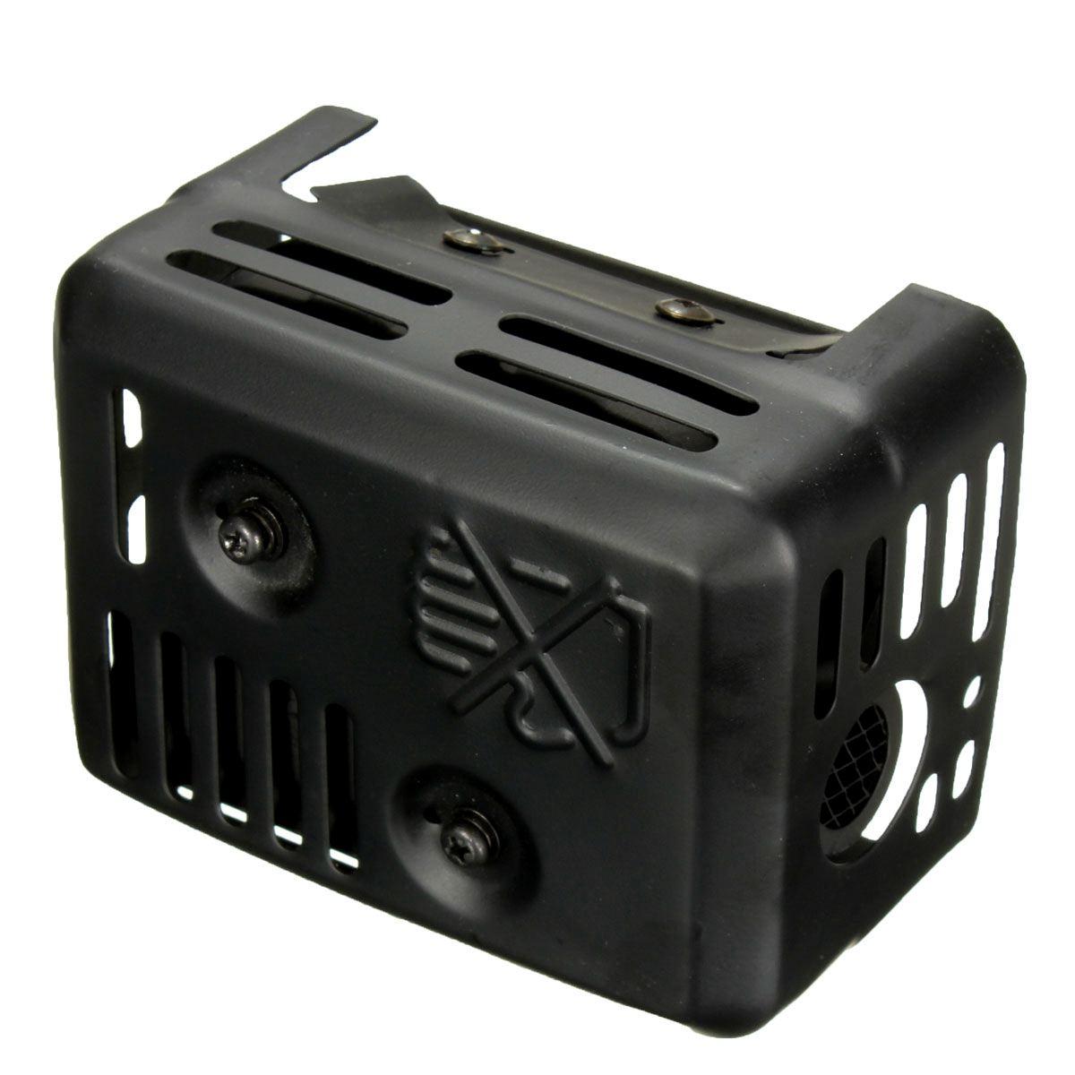 novo sistema de escape silenciador com escudo 04