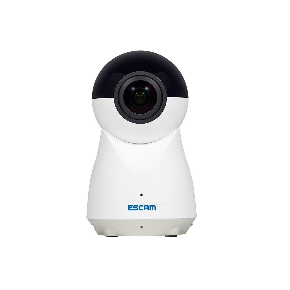 ESCAM QP720 IP caméra H.265 1080 P 720 degrés panoramique WiFi bébé moniteur IR alarme de mouvement vidéo Audio enregistrement détection de mouvement