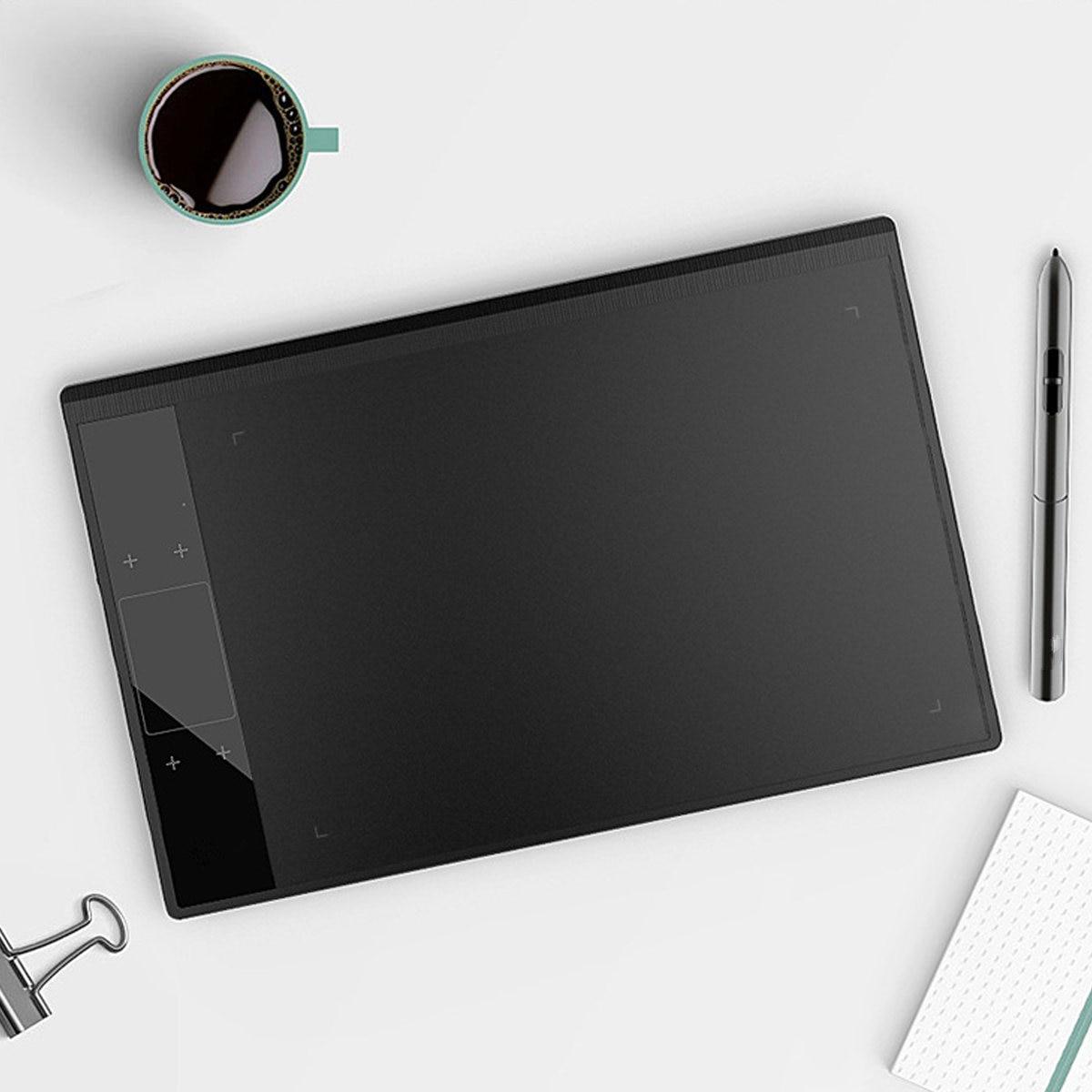 Tablette de dessin graphique A30 pour illustrateur 10x6 pouces grande zone Active bloc de dessin numérique avec stylo passif 8192 niveaux - 5