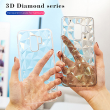 Candy Color Bling Glitter Phone Case For Samsung Galaxy S8 Plus S9 Diamond Transparent Capas