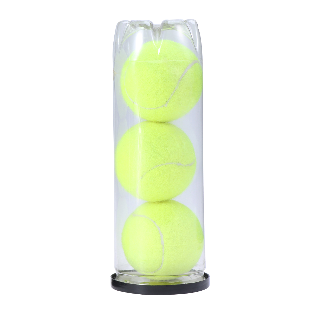 3pcs Tennis Balls With Tinplate Practice Easy Pull Cover Regular Duty Dogs Canned Pets Championship Tennis Balls Set