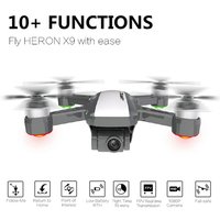 JJRC X9 Heron GPS 5G WiFi FPV with 1080P Camera Optical Flow Positioning Altitude Hold Follow Quadcopter RC Drone VS SG106 SG906