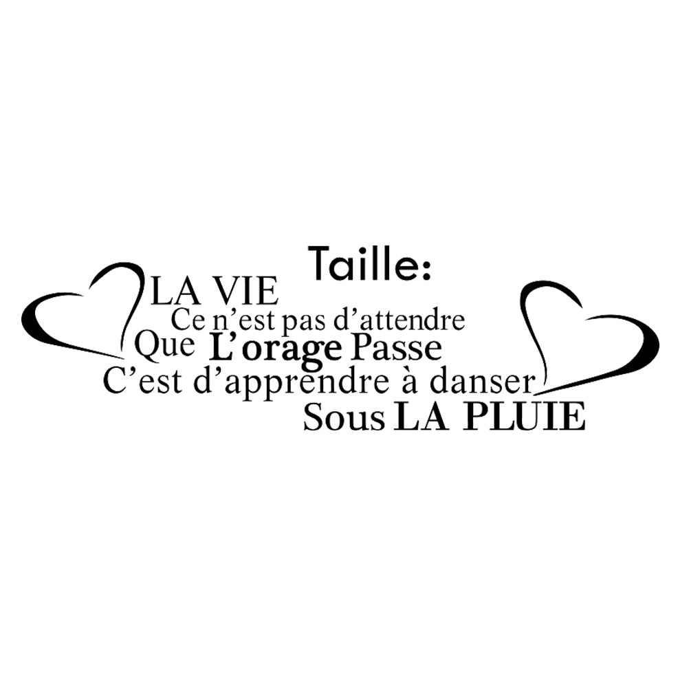 Kililaya Wall Decals Sticker Citation L Amour Cuisine