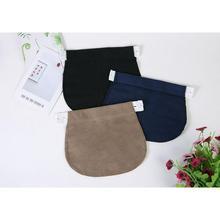 Женский пояс с регулируемой пряжкой для беременных, эластичный мягкий пояс для брюк, удлиняющий пояс с пряжкой, удлиняющий пояс для беременных
