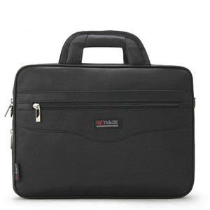 Image 2 - Business Mens Briefcase Large Capacity For Mens Handbags Totes 14.1 Inch Laptop Bags Black Official site Travel Crossbody Bag
