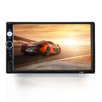 Universal HD 7 Inch Car Double Spindle Car MP5 Player MP4 Bluetooth Hands-free Reversing Image Receiver