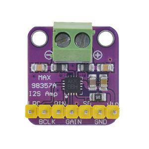 Image 4 - Max98357 I2S 3W Class D מגבר הבריחה ממשק Dac מפענח מודול סנן אודיו לוח עבור פטל Pi Esp32