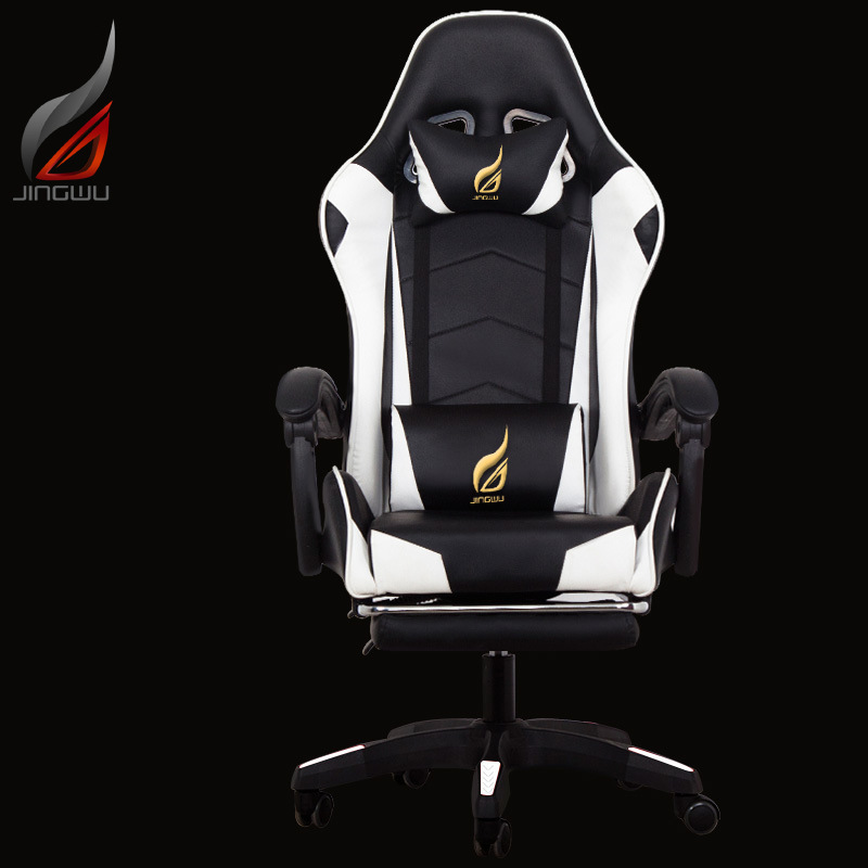Купить с кэшбэком Office furniture gaming computer Game Competition Chair Can Deck Sports Racing Rise And Fall Chair Customized Synthetic Leather
