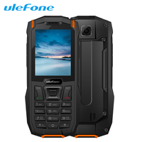 Ulefone Armor Mini IP68 Waterproof Outdoor Feature Mobile Phone 2.4 MTK6261D Wireless FM Radio 2500mAh 0.3MP Dual SIM Cellphone