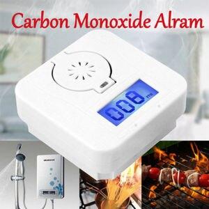 Image 2 - أول أكسيد الكربون الرقمية جهاز إنذار للتحذير مستشعر درجة الحرارة شاشة الكريستال السائل للكشف عن أول أكسيد الكربون