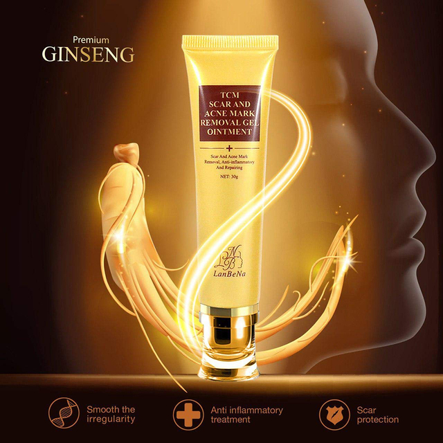 LANBENA 30ml Acne Scar Removal Cream Scar Skin Repair Gel Acne Pimple Treatment Whitening Beauty Skin Care Tool TSLM1