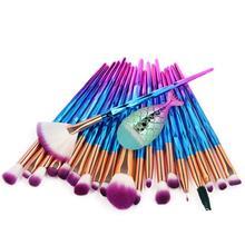 1/21 шт набор кистей для макияжа Русалка Кисть для макияжа кисть для основы Профессиональный набор кистей для макияжа Pinceau Maquillage для женщин