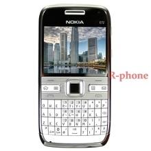 Nokia E72 мобильный телефон 3g Wifi 5MP разблокированный Восстановленный телефон английская клавиатура