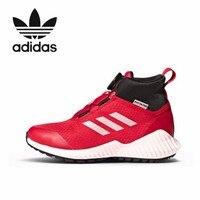 Adidas детская повседневная детская обувь для бега кроссовки детские высокие кроссовки # CM8491