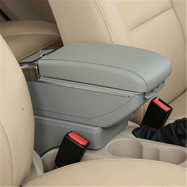 Arm Rest Car Decorative Automovil Styling Parts Car-styling Armrest Box 05 06 07 08 09 10 11 12 13 14 15 16 FOR Nissan Sunny