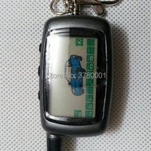 Russian A9 LCD Remote Control Keychain for Starline A9 Key chain Fob Twage Two Way Car