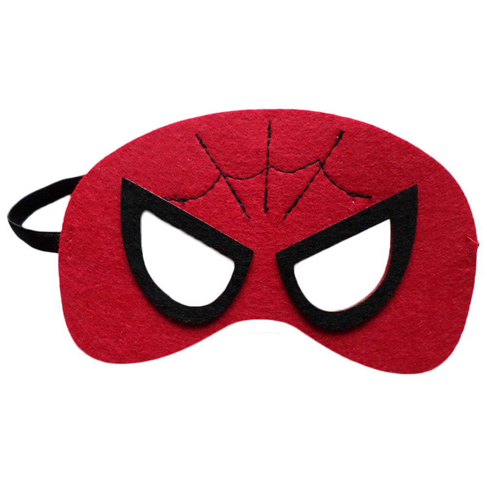 Image 4 - Wholesales 20pcs/lot Super Hero Cosplay Mask Halloween Party Dress up Costume Mask Kids Birthday Party Superhero Cos Favor Gifts-in Party Masks from Home & Garden