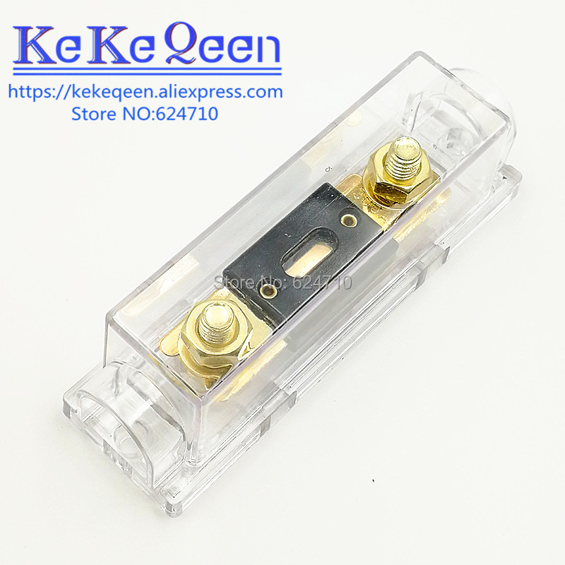 30-500 AMP ANL Fuse Holder Bolt-on Fuse Automotive Fuse Holders 50A 60A 70A 80A 100A 125A 175A 200A 225A 300A 400A 450A 500A(China)