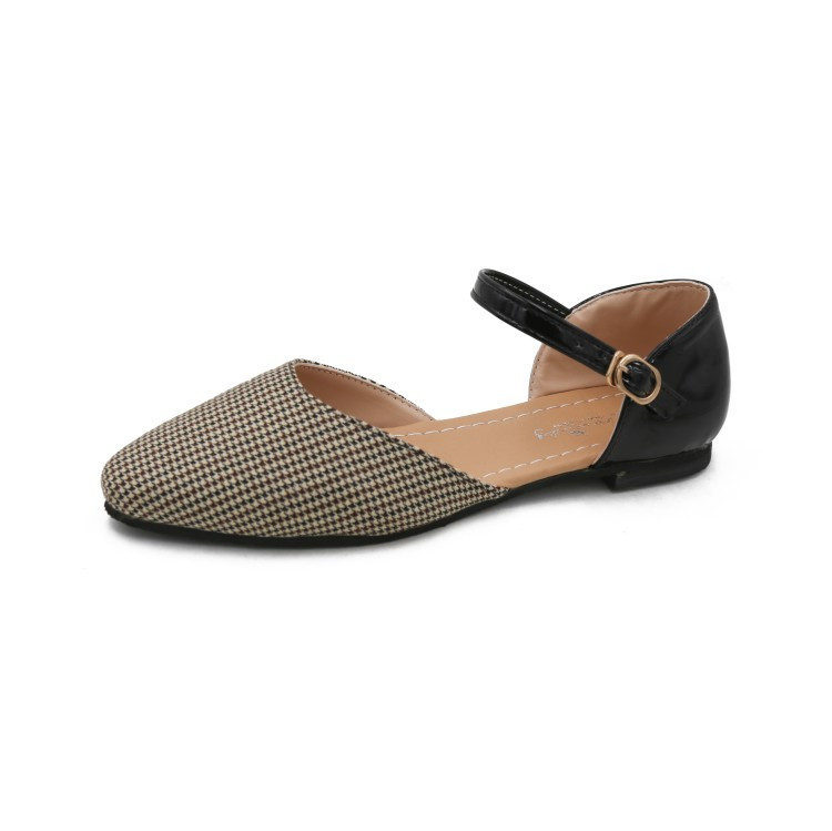 <font><b>Woman</b></font> Sandals Zapatos New Fashion PU Non-slip Mature <font><b>Sexy</b></font> Convenient De Mujer <font><b>Women</b></font> <font><b>Shoes</b></font> <font><b>Sapato</b></font> <font><b>Feminino</b></font> <font><b>Flat</b></font> Light Outdoor image