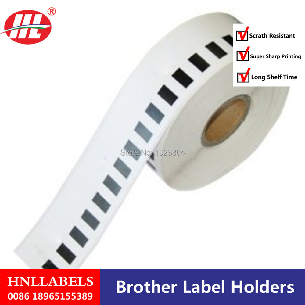 20X Rolls Brother Compatible Labels DK-22210,29mm X 30.48m DK 22210 DK 2210 Thermal Adhesive Dk