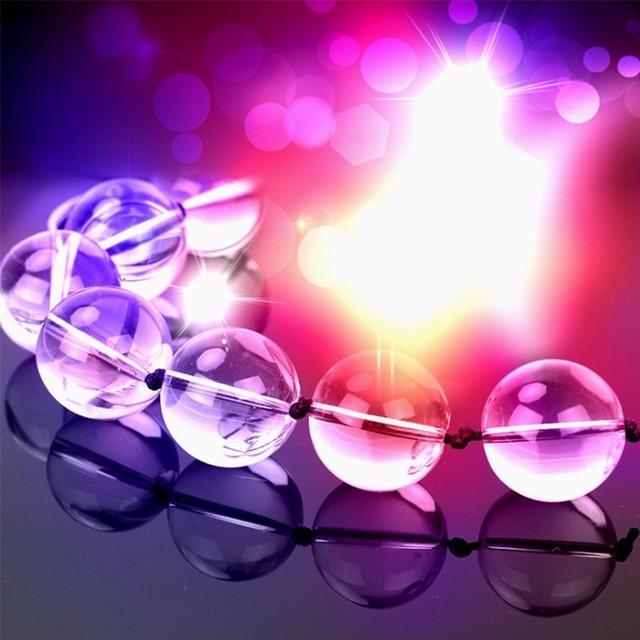 Mini Verre Anal Perles Plug Anal Boules De Cristal godemichet Anal Produits de Sexe Jouets Sexuels pour Hommes Femmes Gay Érotique Adulte Jouets Sexuels Anaux