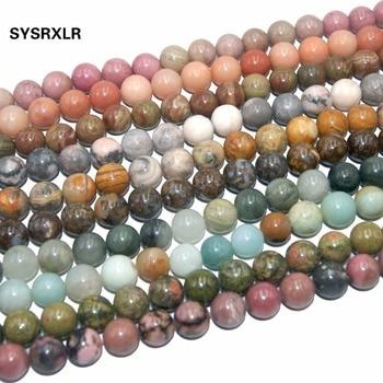 Natural Stone Bead Jewelry Making Pink Quartz Amethysts Agates Lapis lazuli Tiger Eye Turquoises