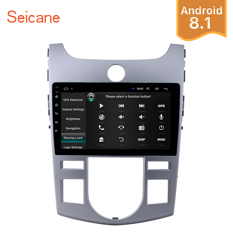 Seicane 2Din Android8.1 9 Car Radio Touchscreen GPS Multimedia Player Head Unit For KIA Forte(AT) 2008 2009 2010 2011 2012Seicane 2Din Android8.1 9 Car Radio Touchscreen GPS Multimedia Player Head Unit For KIA Forte(AT) 2008 2009 2010 2011 2012