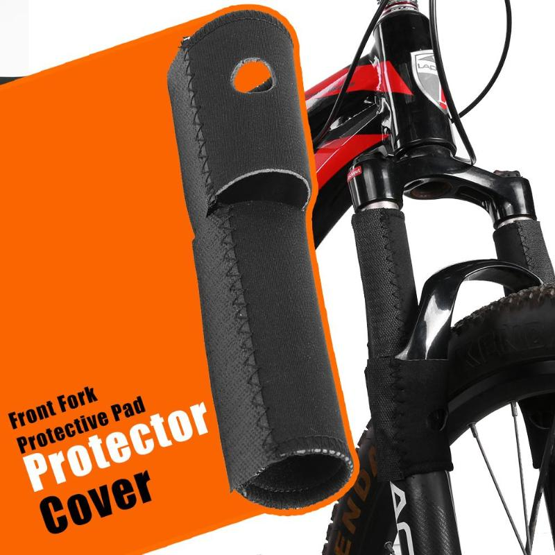 Bicycle Front Fork Protective Pad Cycling MTB Bike Frame Chain Protector Guard Wrap Cover Guard Protector Bicycle Accessories