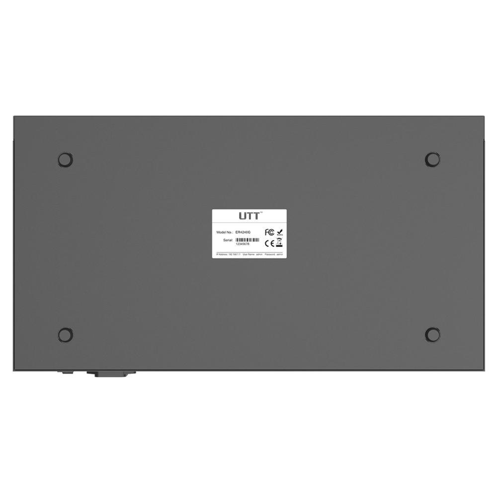 UTT ER4240G Gigabit VPN Router Enterprise-Class Security gateway/Dual WAN Multi WAN/Load Balance/Failover/ QoS PPPoE Server, NAT 5