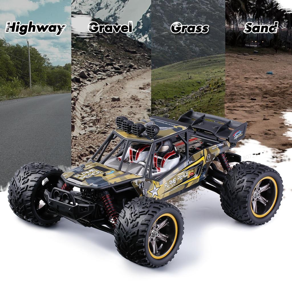 Chaud GPTOYS S916 RC voitures télécommandé camion 1/12 échelle 2.4 GHz 2WD étanche tout-terrain monstre voiture meilleurs cadeaux pour enfants adultes - 5