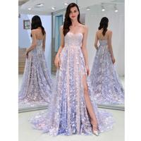 Women Elegant Fashion Sleeveless Backless Hem Slit Zipper Tube Party, Wedding, Prom Top Formal Slim Dress