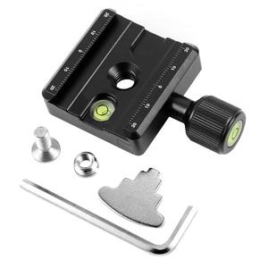 Image 2 - แผ่นอะแดปเตอร์สแควร์Clampพร้อมGradienterสำหรับจานด่วนสำหรับขาตั้งกล้องขาตั้งกล้องQ19819