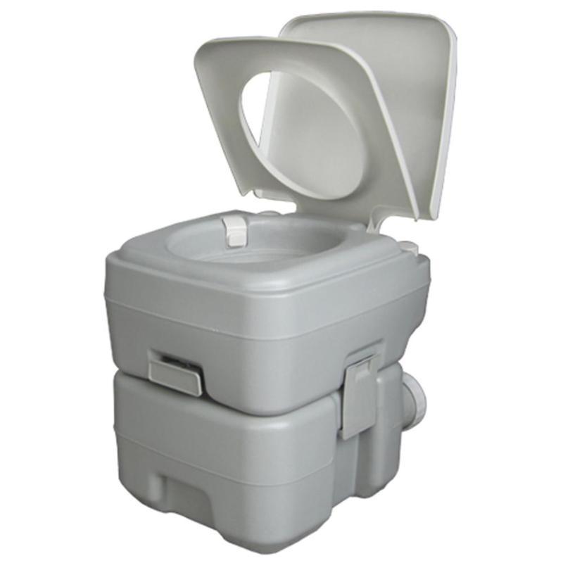 CHH 1020T de toilette amovible 20L mises à niveau de rinçage Portable peut déplacer toilette modifiée RV Camping en plein air voyage randonnée équipement - 6