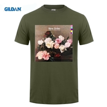 GILDAN New Order Power Corruption and Lies T Shirt CD LP Vinyl Poster Great Discount Cotton Men Tee Fashion  T-Shirt