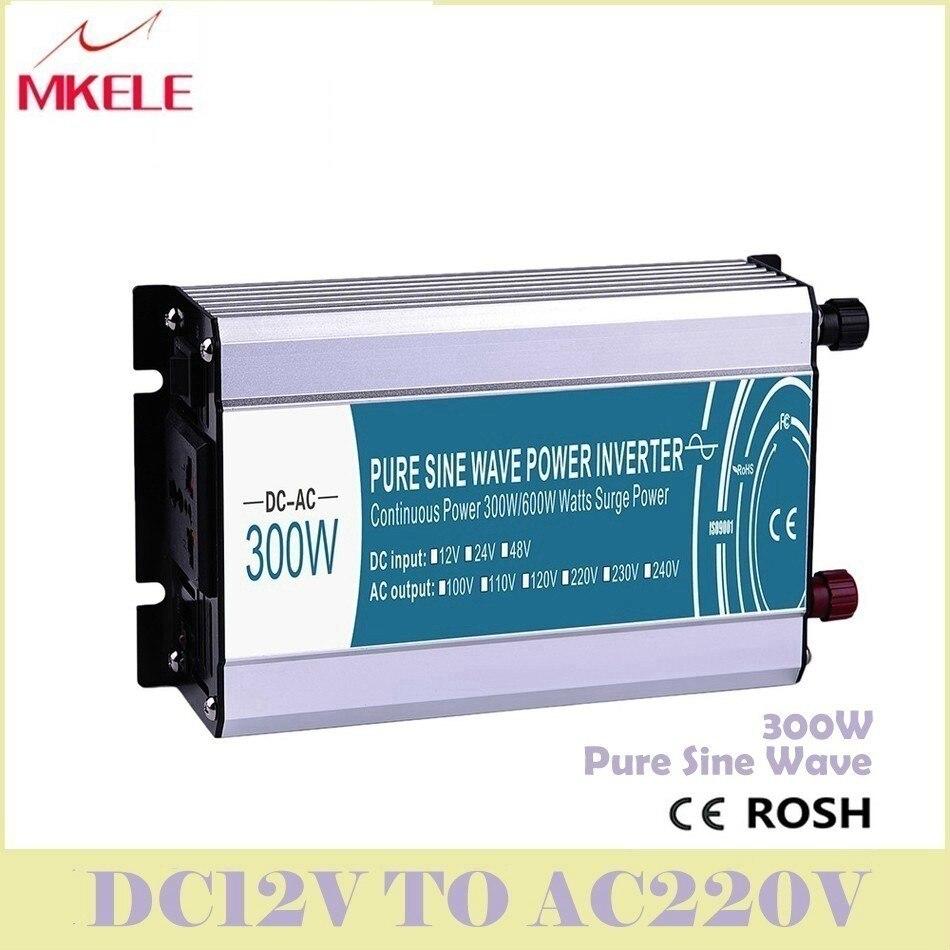 Offre spéciale onduleurs MKP300-242 usage général onde sinusoïdale Pure 24 V DC à 220 V AC 300 W transformateur de puissance convertisseur de tension chine