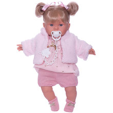 Кукла Llorens Александра 42 см, со звуком