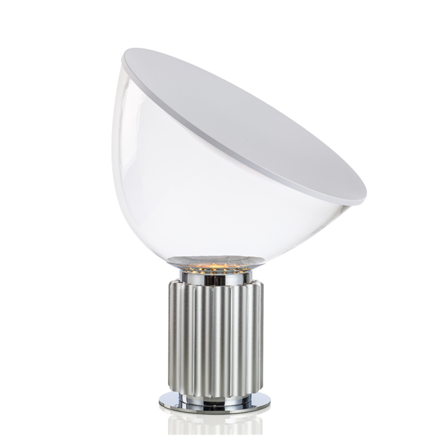 Modern LED Table Lights Glass Shade Radar Desk Lamps Decoration Lamp Satellite Lamp Bedroom Bedside Lighting Table Lamp Flexible in Table Lamps from Lights Lighting
