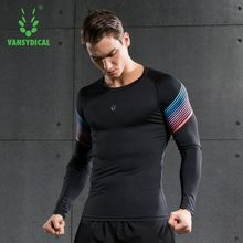 Willarde Для мужчин работает сжатия рубашки с длинным рукавом Фитнес спортивные футболки быстросохнущая для бега спортивные майки топы