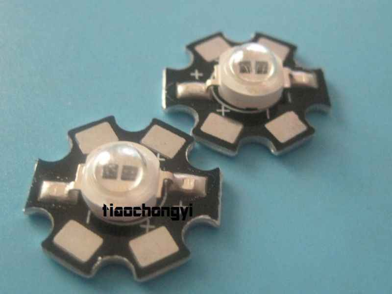 1 pcs 5W High Power LED 2-Chip Double Chip Lamp Bead Infrared IR Light 850nm