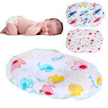 Baby Pillow Unisex Newborn Infant Cotton Flat Head Baby Pillow Makes Babys Head Round Protect Plagiocephaly Flat Head Syndrome(China)