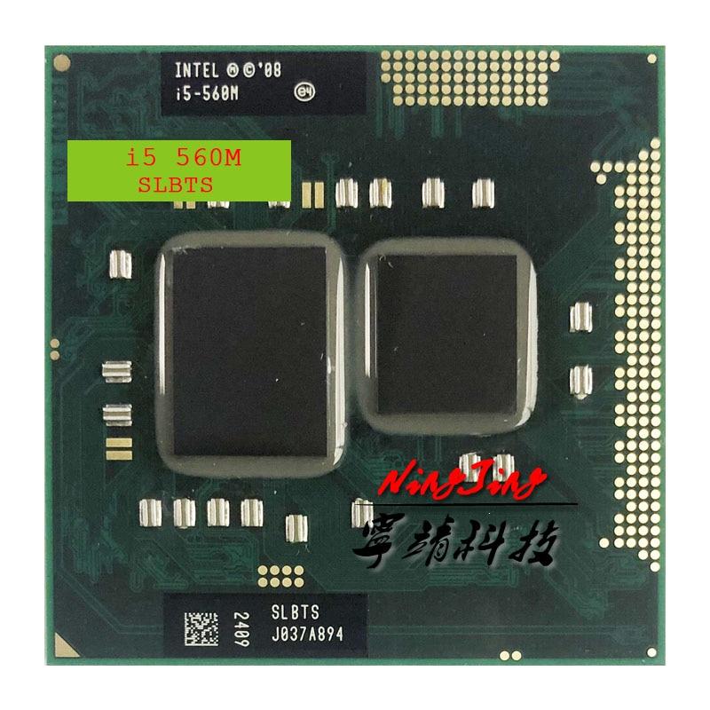 Intel Core i5-560M i5 560M SLBTS 2.6 GHz Dual-Core Quad-Thread CPU Processor 3W 35W Socket G1 / rPGA988A(China)